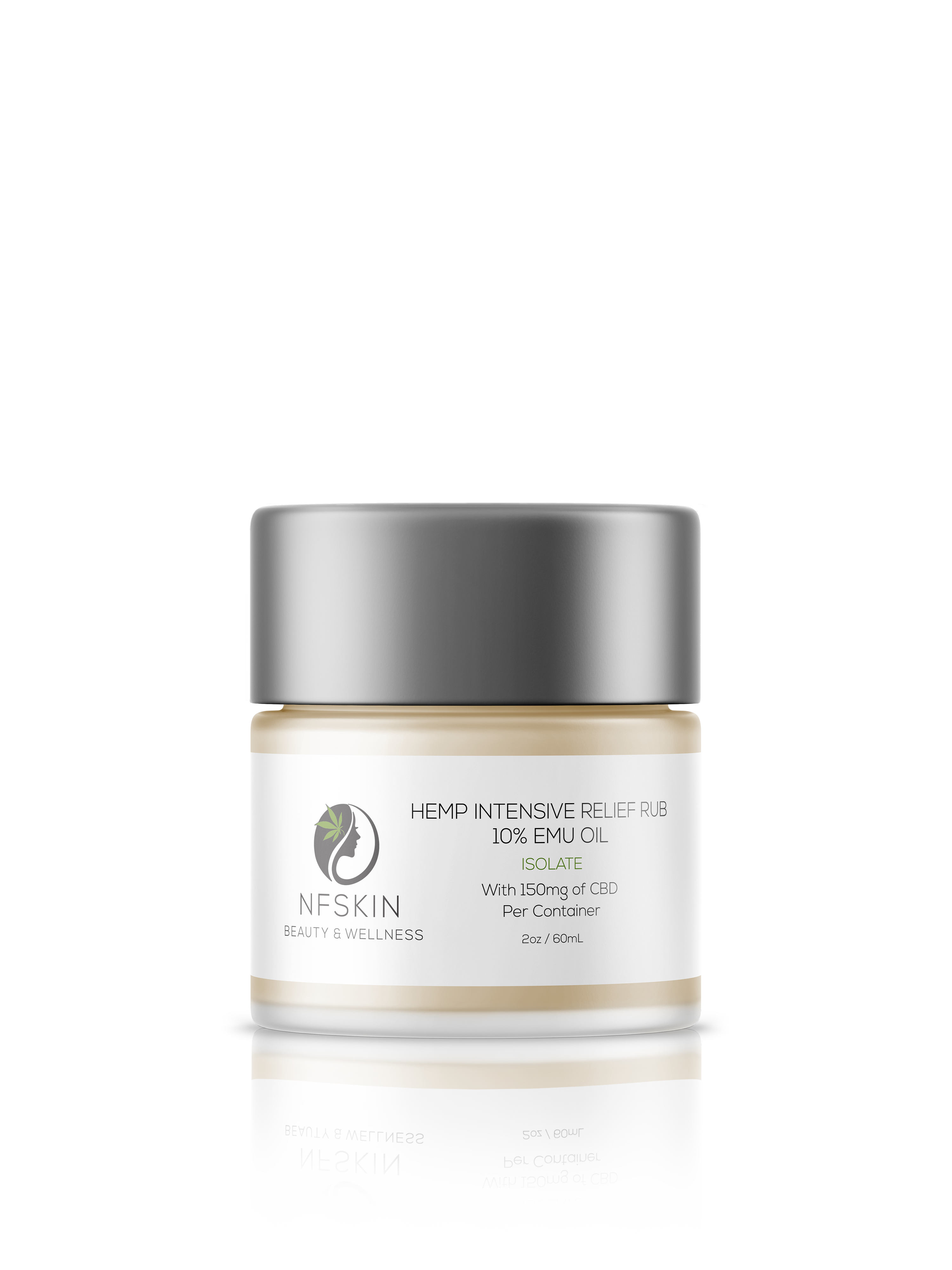 Hemp Intense Relief Rub w/ 10% Emu Oil – 150 mg