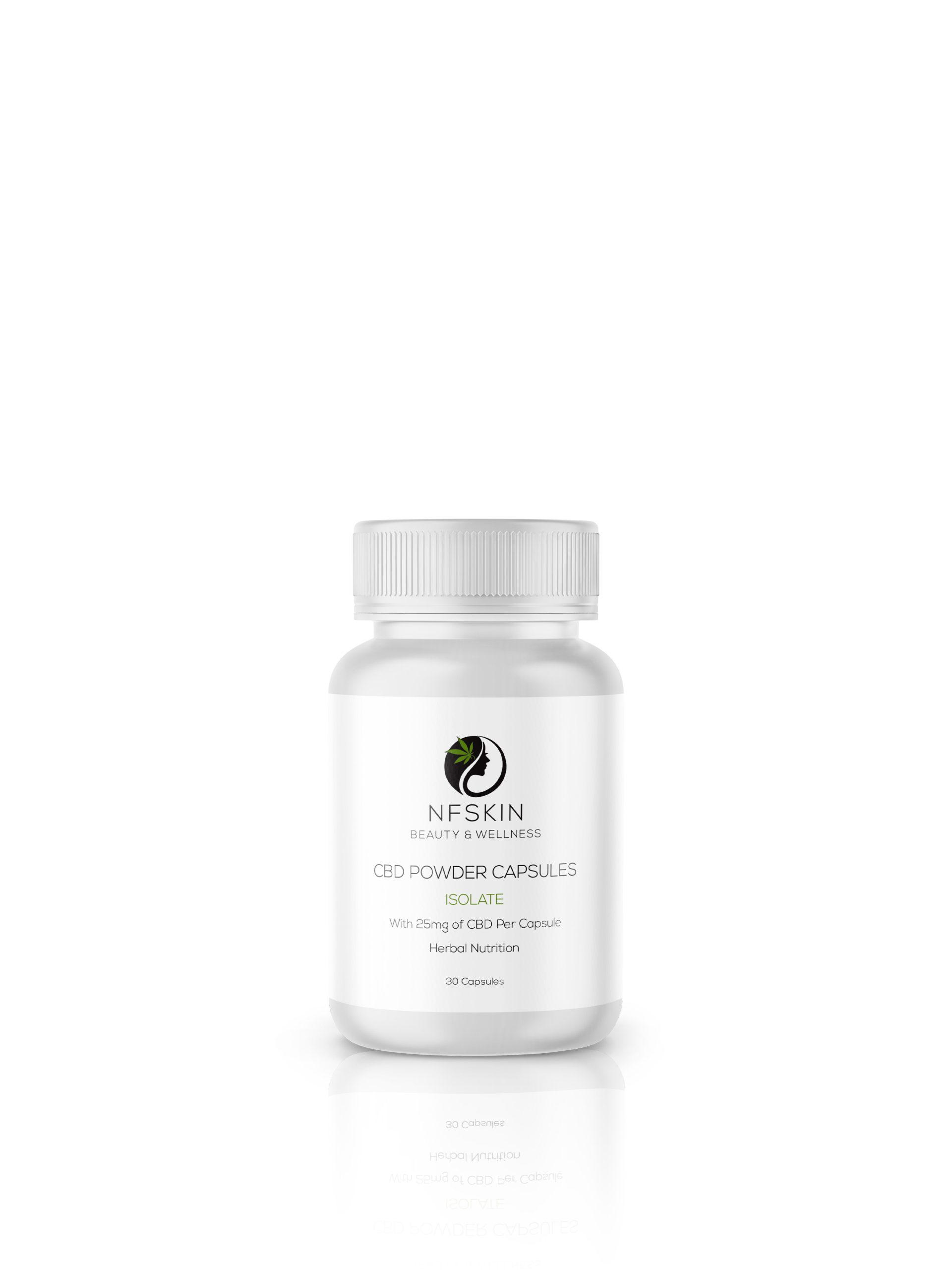 25mg ISO CBD Powder Capsules