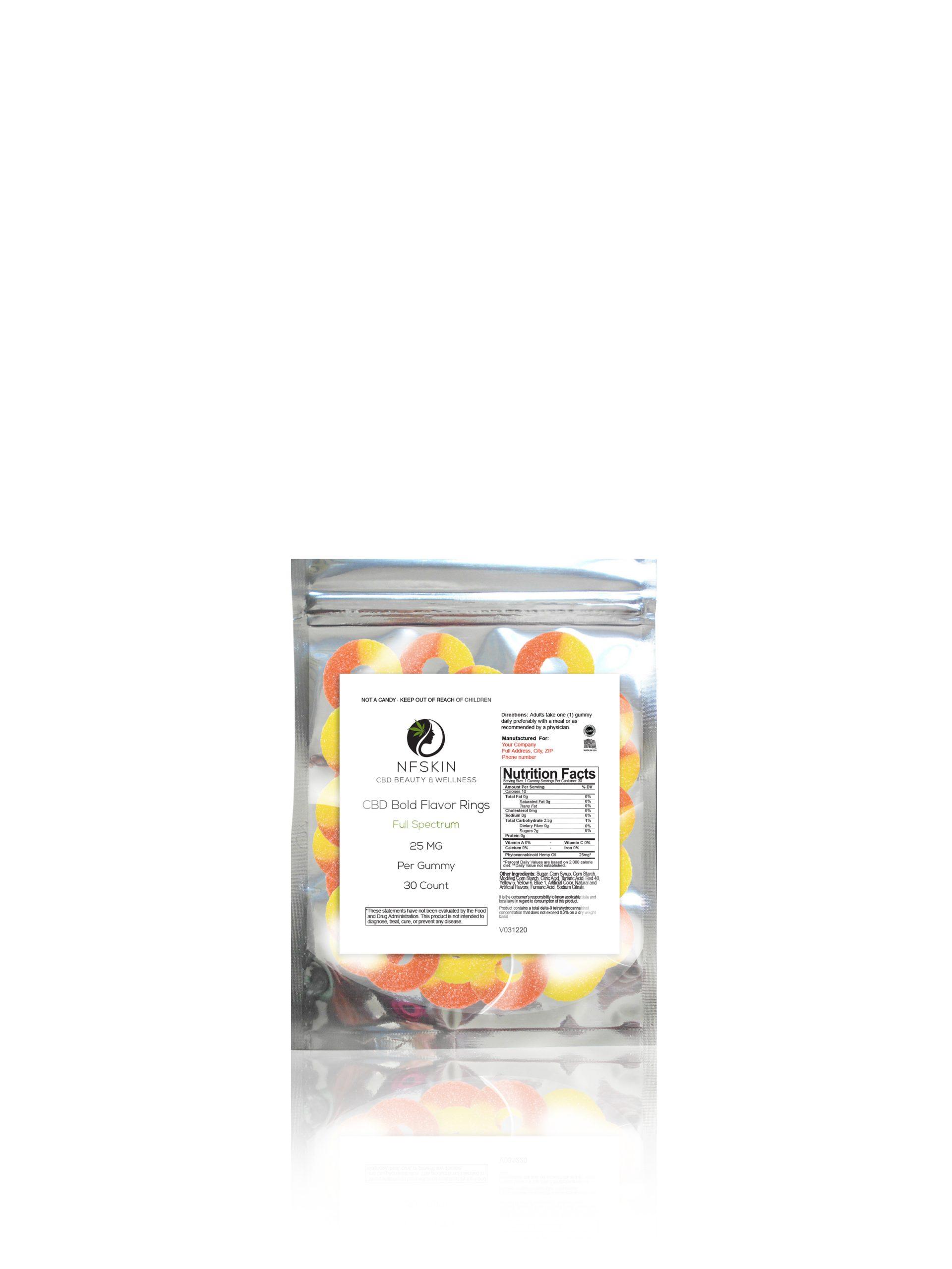 CBD FS Bold Flavor Ring – Count 30