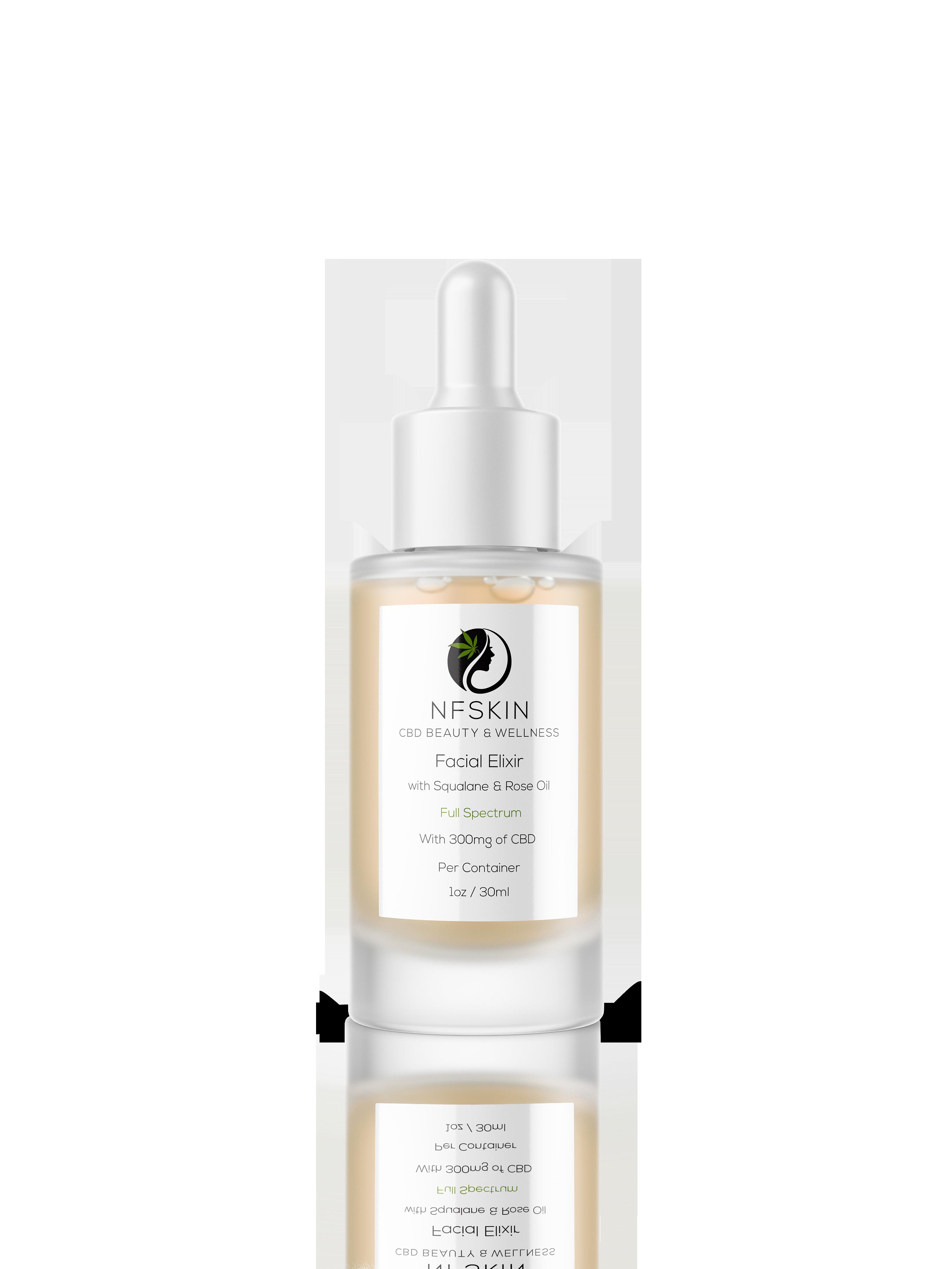 Facial Elixir + Squalane and Rose Oil