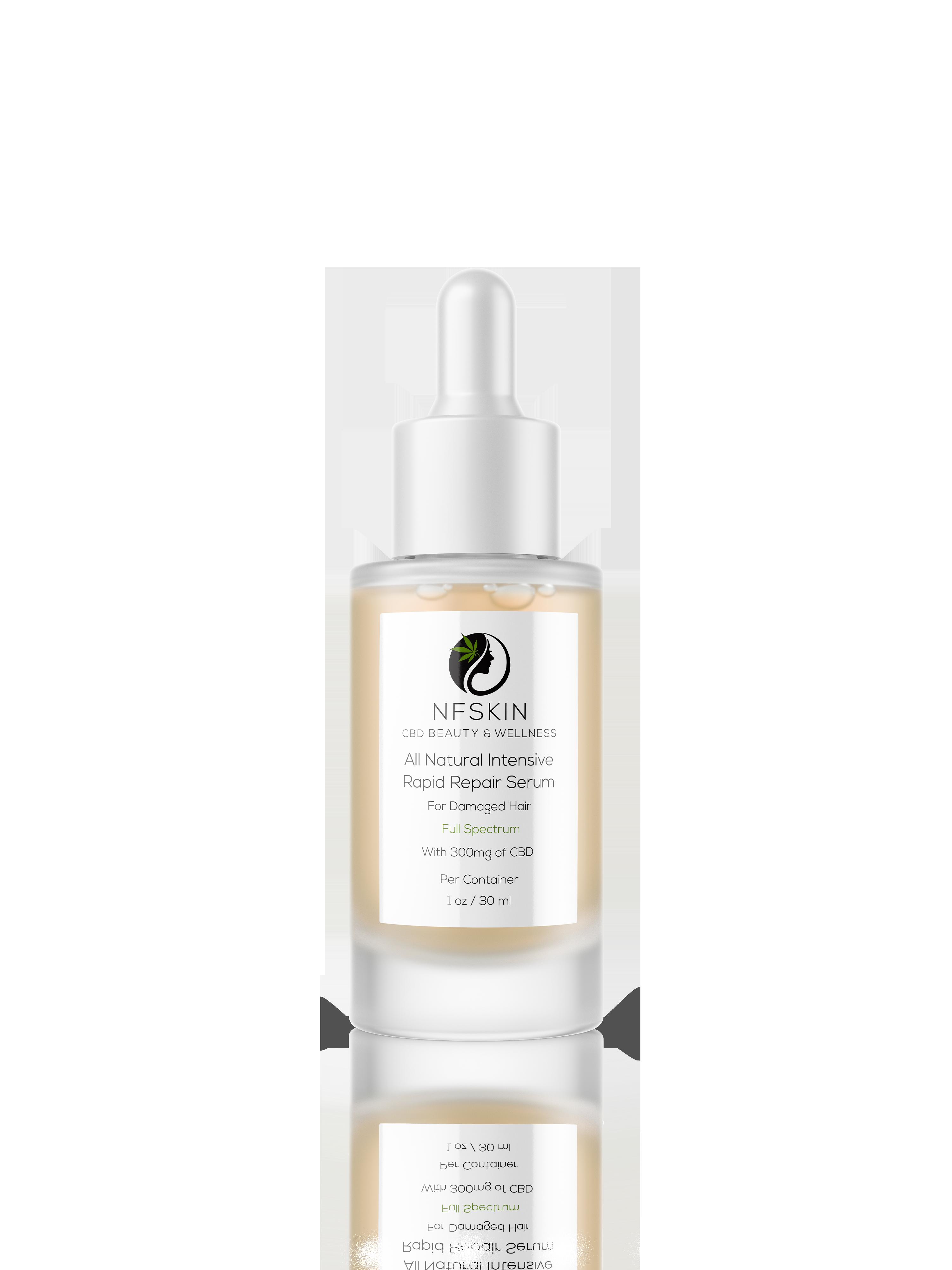 All-Natural Intensive Rapid Repair Serum for Damaged Hair