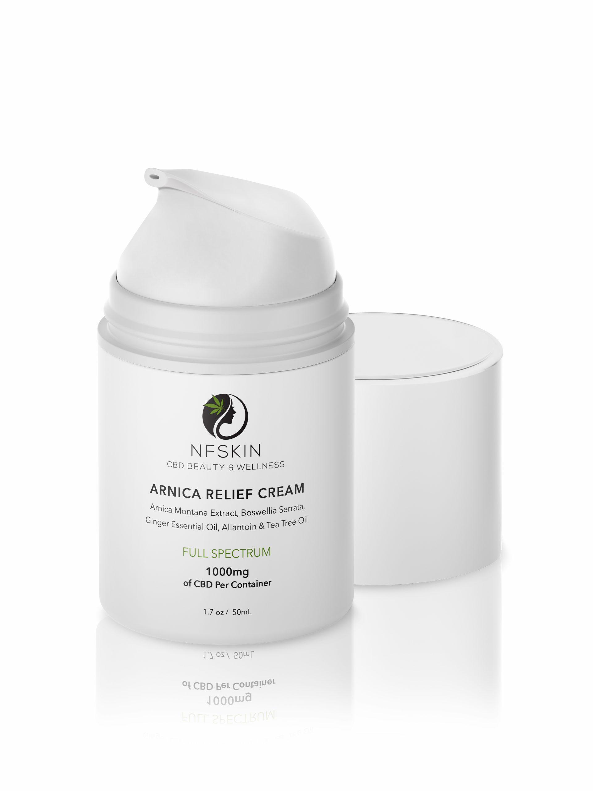 Arnica Relief Cream – 1000mg